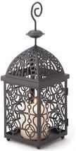 Moroccan Birdcage Iron Candle Holder Hanging Lantern - $44.05