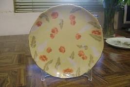 Vintage Yellow Floral Takahashi Plate San Francisco Elan Hand Painted Po... - $17.82