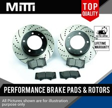 High Performance MITTI Brake Pads & Rotors for Toyota Tacoma 5 Lugs | FRONT - $117.28