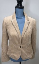 Anthropologie Blazer Daughters of the Liberation Corduroy Size 4 Tan Poc... - $29.02