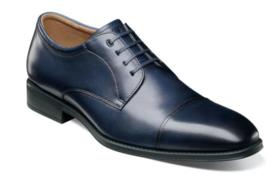 Florsheim Mens Shoes Amelio Cap Toe Oxford Navy 14243-410 - $108.90
