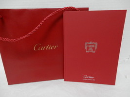 Cartier Jewelery Collection 2014 Limited Edition Catalog Book with store... - $19.95
