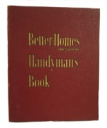 Vintage Better Homes Garden Handyman's Book Handyman DIY Home Repair Ide... - $18.80