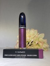 MAC Grand Illusion Glossy Liquid Lipcolour - 313 Queen's Violet - NIB Fa... - $17.77