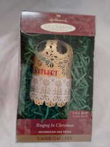 Hallmark Keepsake Ringing In Christmas Reflect Laser Gallery Ornament 1999 - $6.92