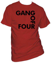 Gang Of Four-Classic Logo-XXL Brick Red T-shirt - $20.31