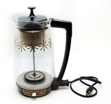 Sunbeam Electric Percolator Glass Pot Coffee Maker APZ 800 12 Cup Vintag... - $38.61