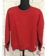 Vintage 1980's Russell Athletic Red Surf Skate Crewneck Sweatshirt USA S... - $59.60