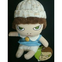 NEW Yoshitomo Nara Limited Edition Girl Plush Toy H18.5cm/7-in from Japa... - $177.41