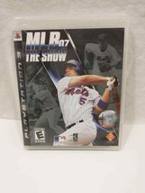 playstation 3 ps3 mlb07 the show preowned untested 5$ ship in Canada  - $5.77