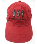 Grand Canyon Red Adjustable Adult Ball Cap Hat - £10.09 GBP