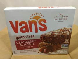 Van's Simply Delicious Gluten Free Cranberry Almond Snack Bars 2 Boxes - $22.98