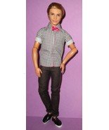 Barbie Fashionistas Ken Poseable Articulated Blonde Doll 2011 Checkered ... - $38.00