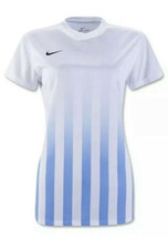 NIKE Dri-Fit US Striped DIVISION II Soccer S/S Jersey SHIRT Womens LARGE... - $34.64