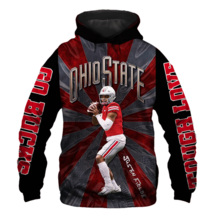 Official-Ohio-State-Buckeyes-NFL-1-Justin-Fields 3D Hoodie S-5XL , Gifts For Fan - $35.31+