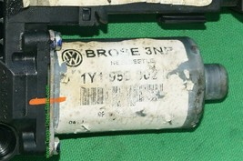 04-10 Volkswagen New Beetle Convertible Window Regulator Motor Front Right RH image 2