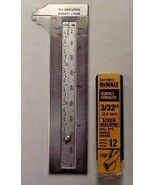 "DeWalt DD4106B12 3/32"" Cobalt Screw Machine Drill Bit 12 Bits Germany - $13.86"