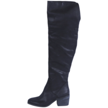 Report Womens Fisher Boot Black Size 9.5 #NJBCA-358 - $49.99