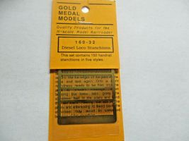 Gold Medal Models # 160-32 Diesel Loco Stanchions  N-Scale image 4
