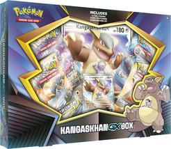 Kangaskhan GX Box Collection Pokemon TCG 4 Booster Packs + Promo Unbroke... - $20.99