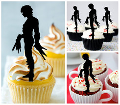 Mo11 Decorations cupcake toppers edward scissorhands Silhouette Package : 10 pcs - $10.00