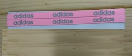 New Unisex Adidas Running HEADBAND Baby Pink Adidas Logo One Size All Sport - $6.00