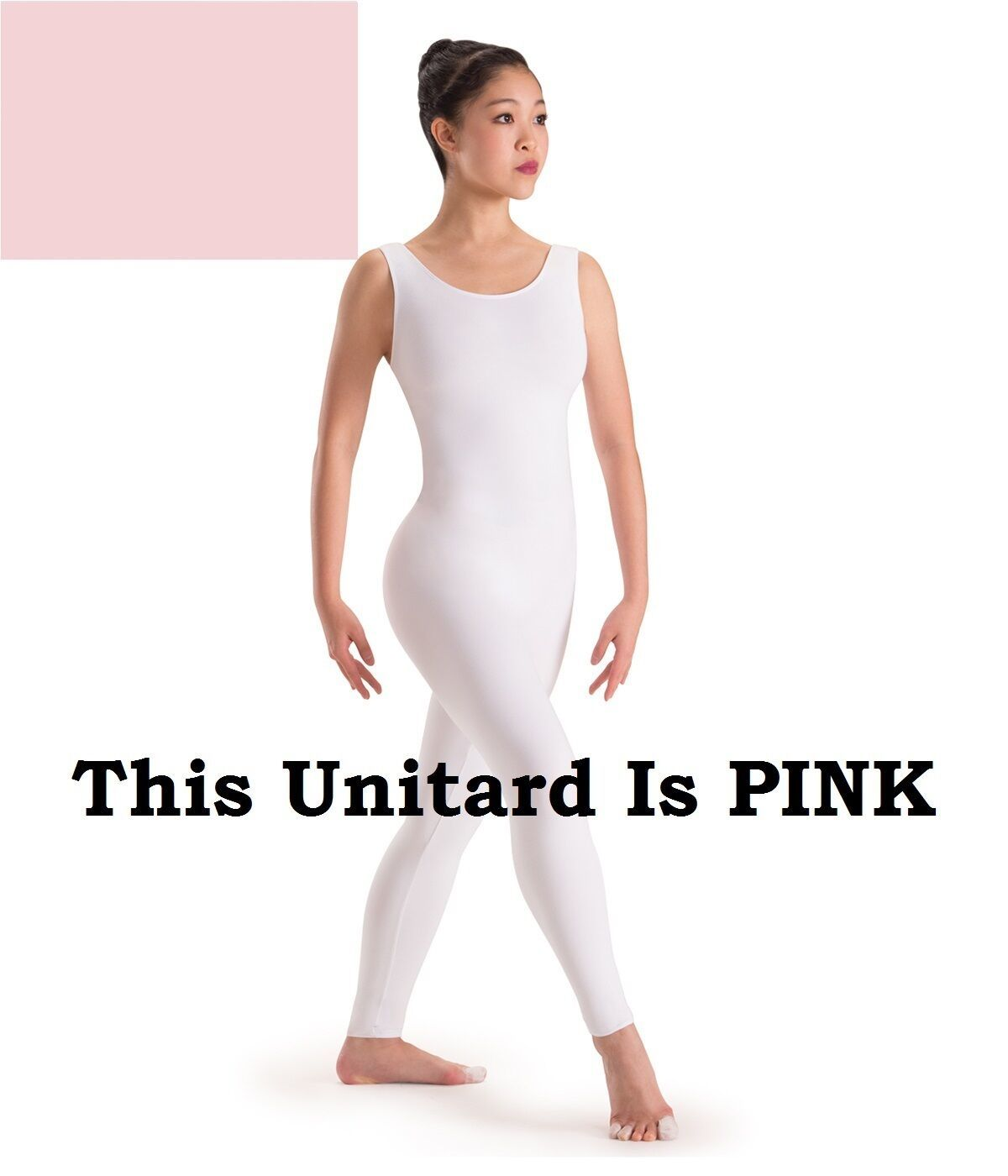 Primary image for Capezio 8934 Pink Adult Size Petite/Extra Small (2-4) Nylon Lycra Tank Unitard