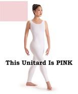 Capezio 8934 Pink Adult Size Petite/Extra Small (2-4) Nylon Lycra Tank U... - $14.99