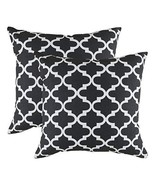 TreeWool, (2 Pack) Throw Pillow Covers Trellis Accent Decorative Pillowc... - $17.99