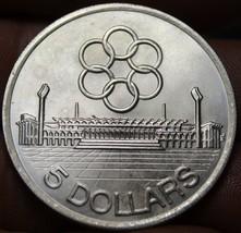 Singapur 5 Dollars,1973 Gem UNC Silber ~ Seap Games ~ 250,000 Minted ~ G... - $20.55