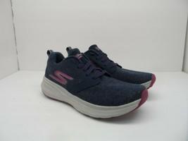 Skechers Women's GOrun Ride 7 Wash-A-Wool Running Shoe Navy Blue/Purple Size 7M - $42.74