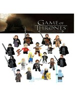 20Pcs Collection Game of Thrones The Wall Night's Watch Minifigure Custo... - $34.99