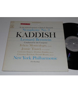Kaddish nm memory of jfk bernstein new york phil. fl john kennedy sympho... - $19.54