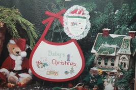 Designs for the Needle Christmas Tradition Baby Bib Ornament Cross Stitc... - $27.21