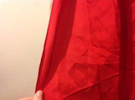 Vera 100 Silk Tout Soie Bright Red Silk Scarf image 5