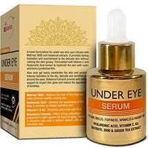 StBotanica Pure Radiance Under Eye Serum, 20ml - For Dark Circles, Puffiness, Wr image 3
