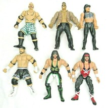 WWE Wrestlers Lot 1998 Jakks Droz Rock Chyna Marc Mero X Pac Titan - $23.74