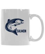 Salmon Fish Coffee Mug, Fishing Mug, Dad Fisherman Mug, Angler Coffee Mug - $17.97
