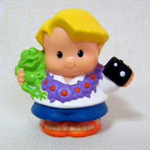 Fisher Price Little People EDDIE Hawaiian Vacation Lil Movers Airplane - $3.50