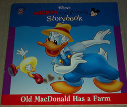 Old Macdonald Has a Farm (Mickey and Friends Storybook) Paperback Book 1999 - $3.95