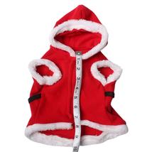 Dog and Cat Clothes - Santa Costume - Christmas Holiday Santa Claus Pet ... - $9.97