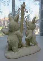 Department 56 Snowbunnies Tra la la Springtime Porcelain Biscuit Bunny R... - $25.00