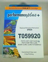 Epson T059920 Remanufactured Inkjet Cartridge Light Black Replaces T0599 - $7.69