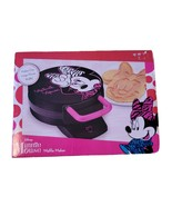 DISNEY Minnie Mouse Waffle Maker  Non Stick Large Waffle Fun Pink  NIB - $29.70