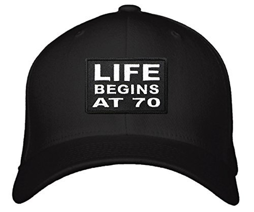 Top Rated Caps Life Begins At 70 Hat - 70th Birthday Gift