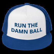 Run the Damn Ball hat / run the Damn Ball // Trucker Cap image 1