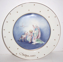 Eve Rockwell Christmas 1980 Limited Edition Collectible Porcelain  Plate - $29.99