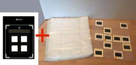 25 3-ring Binder Pages for 500 total 2x2 Slides + HP Flatbed Slide Scan ... - $9.50