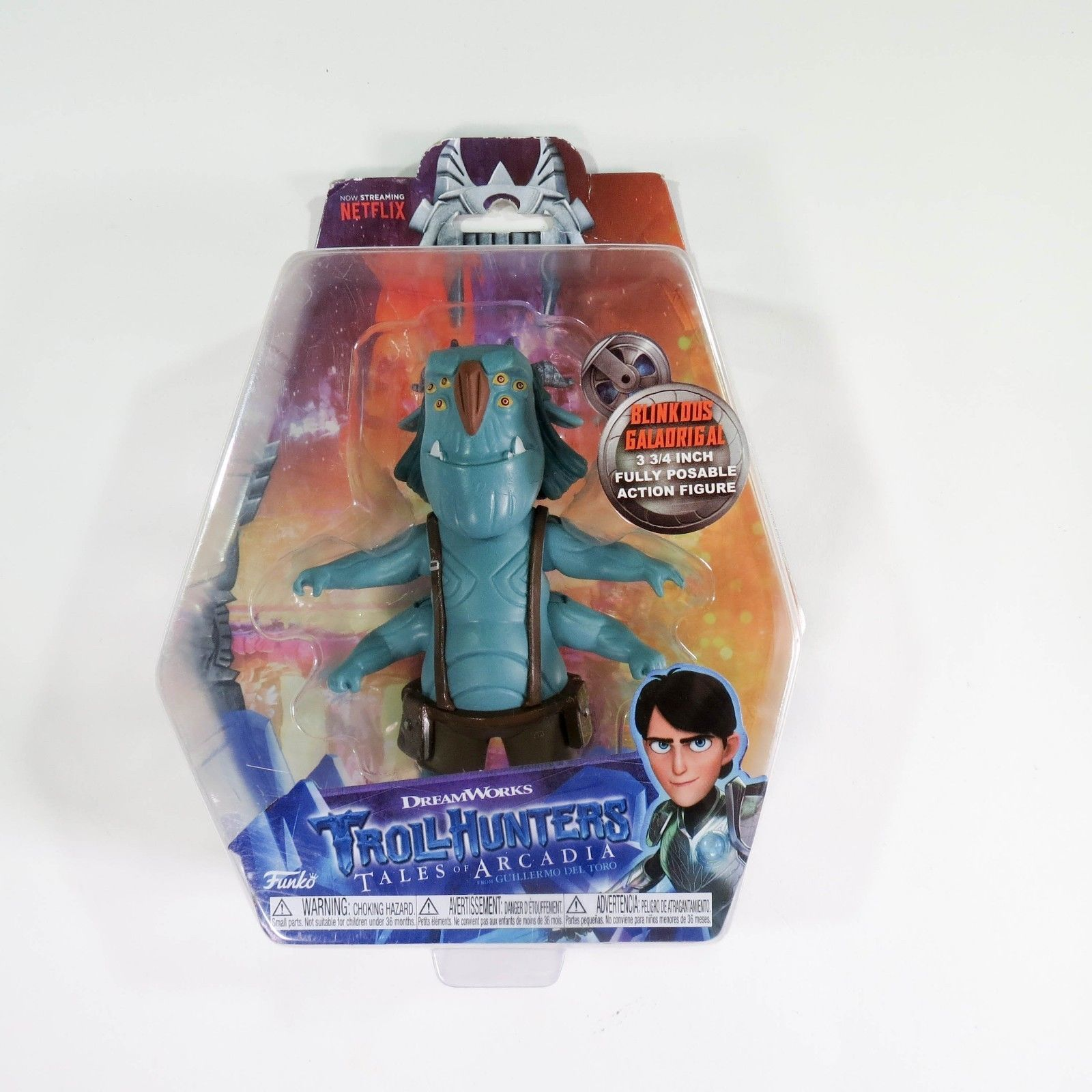 Funko Trollhunters Blinky action figure 3.75 inch Blinkous Galadrigal