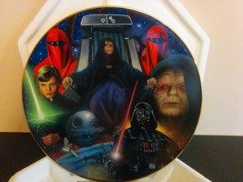 Star Wars Hamilton Collection Heroes and Villains Emperor Palpatine Plat... - $29.69